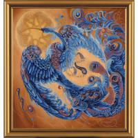 "Нова Слобода №11 Набор для вышивания ""Нова Слобода"" ННД №11 1015 ""Волшебная птица"" 50 х 50 см"