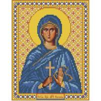 Nova Sloboda 9116 Набор для вышивания «Nova Sloboda» С9116, Св.Прп.Мч.Евгения, 18x23 см