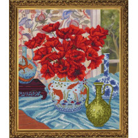 Nova Sloboda СД3106 Цветочный натюрморт. Маки