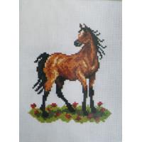 Orchidea 7505 Набор для вышивания лошадь, 18*24 см
