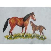 Orchidea 7508 Набор для вышивания лошадь, 18*24 см
