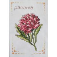 Orchidea 7538 Набор для вышивания Пион 9,5*13,5 см