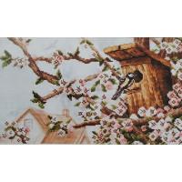 Orchidea 8055 Набор для вышивания Anex-bis Скворечник 31х18 см
