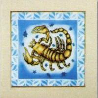 Orchidea 8073 Вышивальный набор,Зодиак-скорпион 25*25см