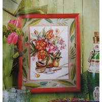 Orchidea 8078 Набор для вышивания Anex-bis Цветы 24х30 см