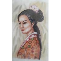 Orchidea 8097 Набор для вышивания Anex-bis Портрет девушки 26х39 см.
