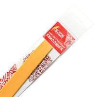 ОСТРОВ СОКРОВИЩ 128756 Бумага для квиллинга желтая, 125 полос, 3 мм х 300 мм, 130 г/м2, ОСТРОВ СОКРОВИЩ, 128756