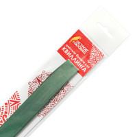 ОСТРОВ СОКРОВИЩ 128764 Бумага для квиллинга зеленая, 125 полос, 3 мм х 300 мм, 130 г/м2, ОСТРОВ СОКРОВИЩ, 128764