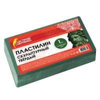 ОСТРОВ СОКРОВИЩ 227474 Пластилин скульптурный ОСТРОВ СОКРОВИЩ, оливковый, 1 кг, твердый, 227474