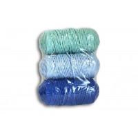 Osttex НШХ 3мм сгм Набор шнуров хлопковых 3мм (синий+голубой+мятный)