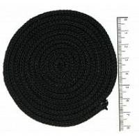 Osttex ШХ 4мм ч Шнур хлопковый 4 мм без сердечника (черный) 50м 2064К