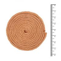 Osttex ШП 3мм б Шнур полиэфирный 3 мм без сердечника (бежевый) 50м (137)