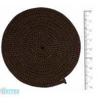 Osttex ШП 3мм к Шнур полиэфирный 3 мм без сердечника (коричневый) 50м (146)