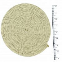 Osttex ШП 3мм м Шнур полиэфирный 3 мм без сердечника (молочный) 50м