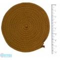 Osttex ШП 3мм п Шнур полиэфирный 3 мм без сердечника (песочный) 50м (103)