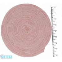 Osttex ШП 3мм ср Шнур полиэфирный 3 мм без сердечника (светло розовый) 50м (134)