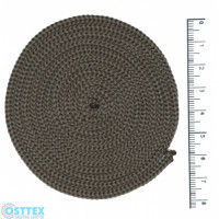 Osttex ШП 3мм тб Шнур полиэфирный 3 мм без сердечника (темно бежевый) 50м (37)
