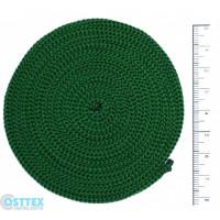 Osttex ШП 3мм тз Шнур полиэфирный 3 мм без сердечника (темно зеленый) 50м (49)