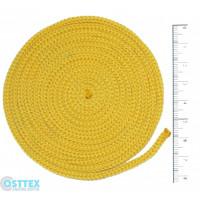 Osttex ШП 3мм ж Шнур полиэфирный 3 мм без сердечника Желтый  50м (16)