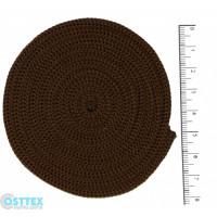 Osttex ШП 4мм к Шнур полиэфирный 4 мм без сердечника (коричневый) 50м (146)