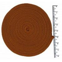 Osttex ШП 4мм п Шнур полиэфирный 4 мм без сердечника (песочный) 50м (92)