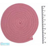 Osttex ШП 4мм р Шнур полиэфирный 4 мм без сердечника (розовый) 50м (90)