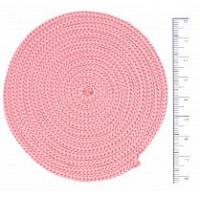 Osttex ШП 4мм ср Шнур полиэфирный 4 мм без сердечника (светло-розовый) 50м