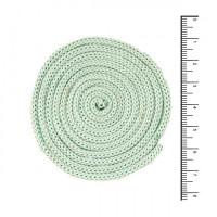 Osttex ШП 4мм сз Шнур полиэфирный 4 мм без сердечника (серо зеленый) 50м (21)