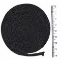 Osttex ШП 4мм тс Шнур полиэфирный 4 мм без сердечника (темно-серый) 50м