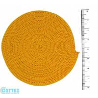 Osttex ШП 4мм ж Шнур полиэфирный 4 мм без сердечника (желтый) 50м (16)