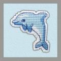 Овен 1096 Значок - Дельфин