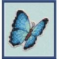 Овен 1172 Значок Голубая Морфа