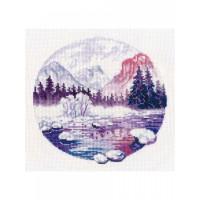 Овен 1299_ОВ Набор для вышивания «Овен» 1299 Сиреневые сны