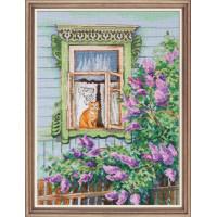 Овен 969 А за окном весна