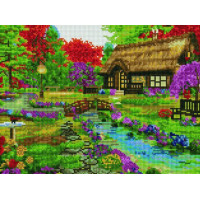 Paintboy EF1129 Алмазная мозаика 30х40 EF1129 Дивный сад