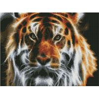 Paintboy EF1130 Алмазная мозаика 30х40 EF1130 Неоновый тигр
