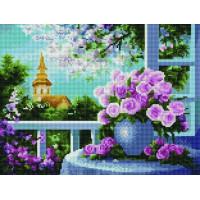 Paintboy EF1131 Алмазная мозаика 30х40 EF1131 Вид на церковь