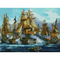 Paintboy EF1133 Алмазная мозаика 30х40 EF1133 Морской бой