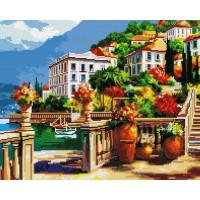 Paintboy GF1184 Алмазная мозаика 40х50 GF1184 Пляжные домики