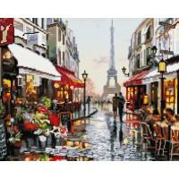 Paintboy GF1198 Алмазная мозаика 40х50 GF1198 Дождливый Париж