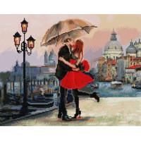 Paintboy GF1471 Алмазная мозаика 40х50 GF1471 Романтический поцелуй