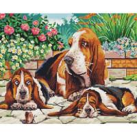 Paintboy GF1605 Алмазная мозаика 40х50 GF1605 Собаки в парке
