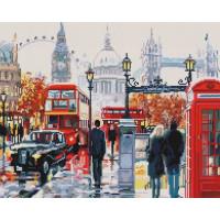 Paintboy GF1724 Алмазная мозаика 40х50 GF1724 Шумный Лондон
