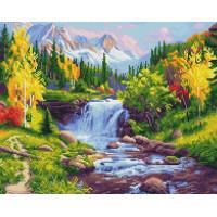 Paintboy GF1928 Алмазная мозаика 40х50 GF1928 Горная река