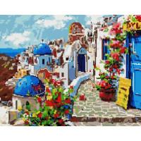 Paintboy GF2555 Алмазная мозаика 40х50 GF2555 Греческие домики