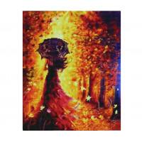 Paintboy GF4615 Алмазная мозаика 40х50 GF4615 Девушка-осень