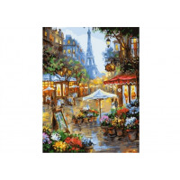 Paintboy GX25578 Картина по номерам 40х50 GX25578 Цветочная улица