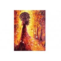Paintboy GX26397 Картина по номерам 40х50 GX26397 Девушка-осень