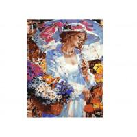 Paintboy GX30509 Картина по номерам 40х50 GX30509 Леди с корзинкой