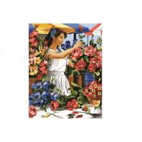 Paintboy GX31145 Картина по номерам 40х50 GX31145 Цветочница